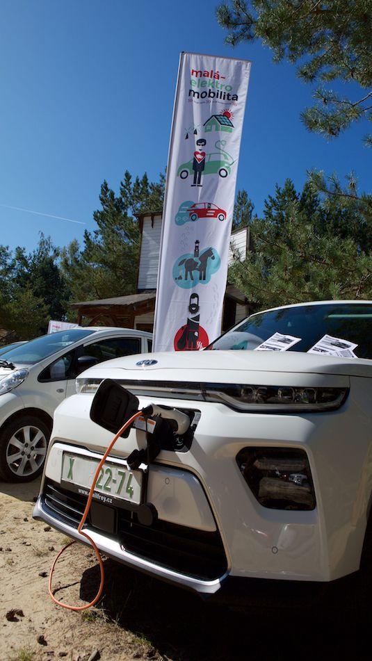 Elektromobily na následném srazu