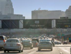 kalifornie dálnice hollywood