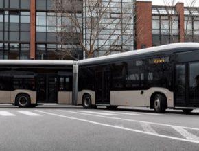 auto elektrobus elektrický autobus Mercedes-Benz eCitaro G Diamler