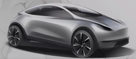 auto elektromobil Tesla levný cena do 25 000 dolarů