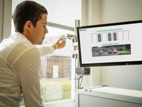Vyhodnocování obrazu pomocí technik AI bude sloužit k zobrazení volných parkovacích míst v areálu závodu Škoda Auto v Mladé Boleslavi