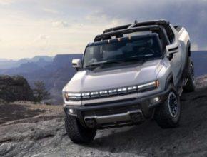 Elektromobil truck GMC Hummer supertruck