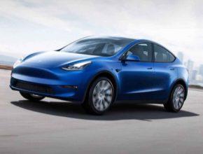 auto elektromobil Tesla Model Y