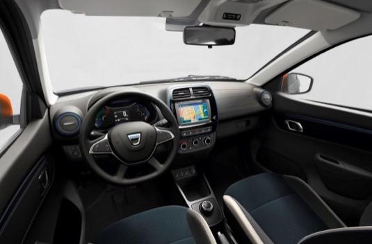 Dacia Spring Electric elektromobil