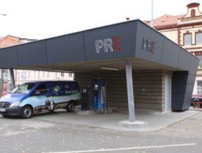 nabíjecí stanice PRE pro elektromobily Stromovka Holešovice