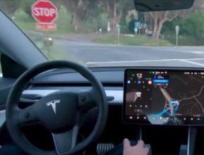 auto elektromobil Tesla Autopilot