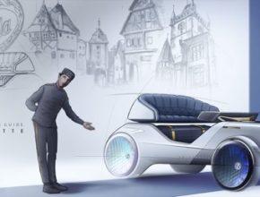 auto elektromobily Voiturette A