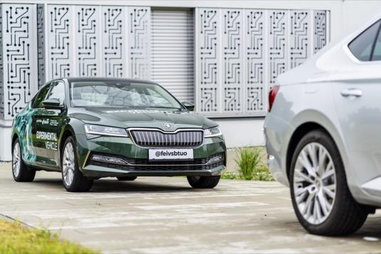 Plug-in hybridy Škoda Superb iV