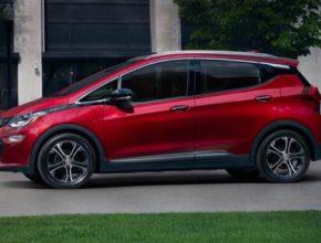 auto elektromobil Chevrolet Bolt