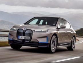 auto elektromobil BMW iX