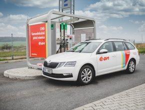 E.ON má ve své síti už 30 plnicích stanic na CNG.