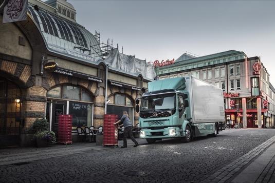 Rozvážkový nákladní elektromobil Volvo Trucks
