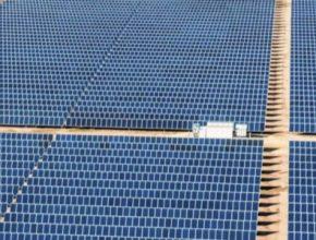 solární fotovoltaická elektrárna Texas