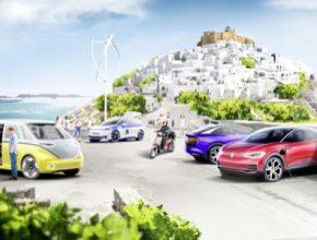 Středomořský ostrov Astypalaia přechází na elektromobilitu, inteligentní řešení pro mobilitu a ekologickou výrobu elektrické energie