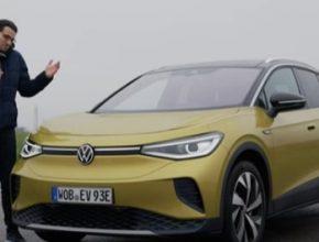 auto elektromobil Volkswagen ID.4
