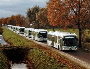 elektrobusy BYD elektrický autobus Nizozemsko Keolis