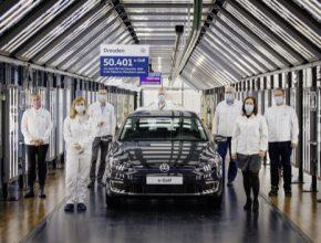Po rekonstrukci výrobního zařízení sjedou na konci ledna z montážní linky první elektromobily Volkswagen ID.3
