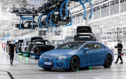 Elektromobil Mercedes-Benz EQS