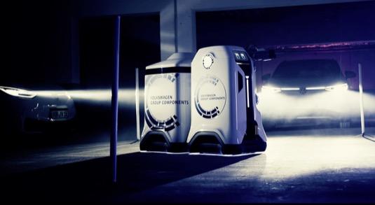 robotická nabíječka Volkswagen