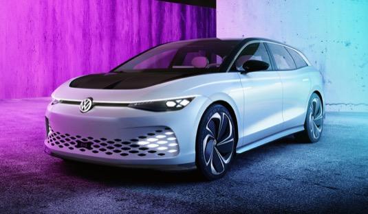auto elektromobil Volkswagen Aero B