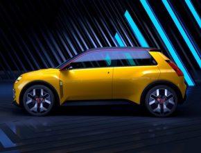 auto elektromobil Renault 5