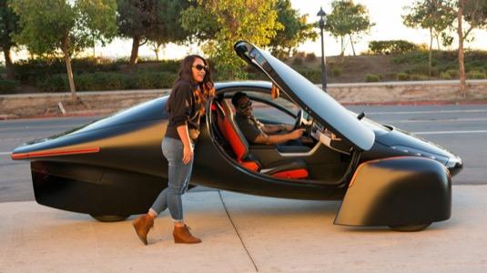 auto elektromobil Aptera