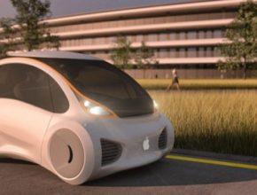 auto elektromobil robotický Apple Hyundai