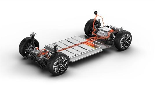 auto elektromobil baterie Volkswagen MEB iD.3