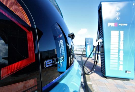 Dobíjecí stanice PREpoint se nacházejí především v Praze a postupně přibývají na celém území České republiky.