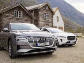 auto elektromobily fosily Norsko