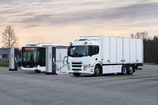 Cílem společnosti Scania je zaujmout vedoucí postavení mezi výrobci, kteří se podílejí na postupném přechodu k trvale udržitelným přepravním systémům.