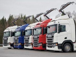 auto elektromobily nákladní vůz truck tahač