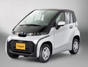 auto elektromobil Toyota C+pod