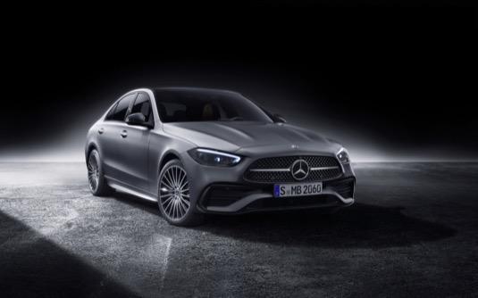 auto plug-in hybrid Mercedes-Benz třídy C
