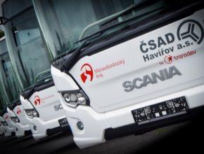 autobusy na CNG Havířov