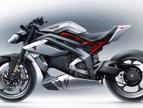 elektromotorka elektrická motorka motocykl Triumph TE-1