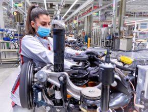 Audi Q4 e-tron je první elektricky poháněné SUV značky Audi z německého výrobního závodu.