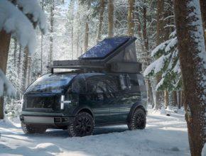 Canoo pick-up truck elektromobil