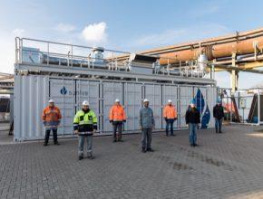 Největší vysokoteplotní elektrolyzér na světě spustil Sunfire v Salzgitteru.