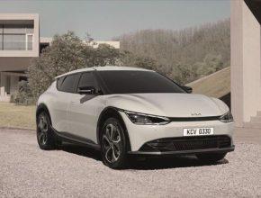 Elektromobil Kia EV6 nabídne prostorný design interiéru díky první podvozkové platformě Kia vyhrazené pro elektromobily (E-GMP)