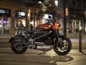 elektromotorka Harley Davidson LiveWire