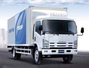auto Isuzu nákladní auto