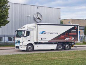 auto Mercedes-Benz eActros
