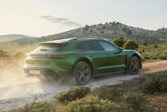 elektromobil Porsche Taycan Cross Turismo