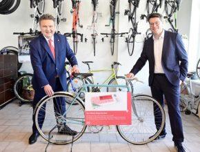 Vídeňský starosta Michael Ludwig a vídeňský radni Jürgen Czernohorszky