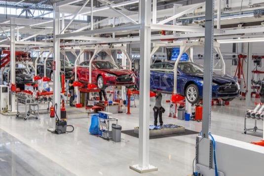 auto elektromobil výroba elektromobilů Tesla Model S Model XY