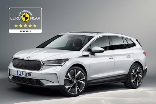 auto Škoda Enyaq iV elektromobil test bezpečnosti