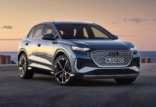 Cena elektromobilu Audi Q4 e-tron začíná v Česku na 1 157 900 Kč.