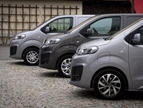 auto elektromobily Peugeot e-Traveller a e-Expert, Citroen ë-SpaceTourer a ë-Jumpy a Opel Zafira-e Life a Vivaro-e