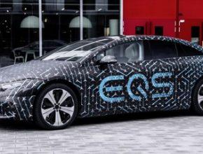 auto Mercedes-Benz EQS elektromobil